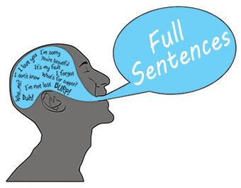 full-sentence